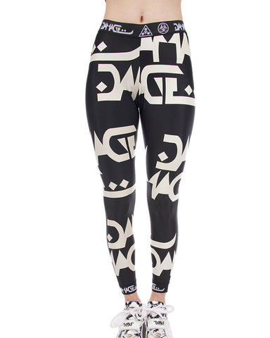 DAMAGE LOGO LEGGINGS