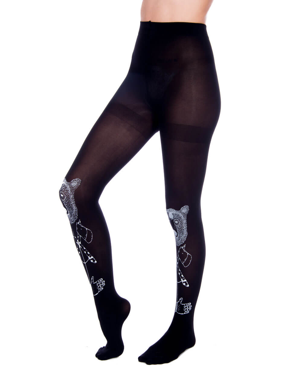 BEAR BLACK TIGHTS - Eros Mortis