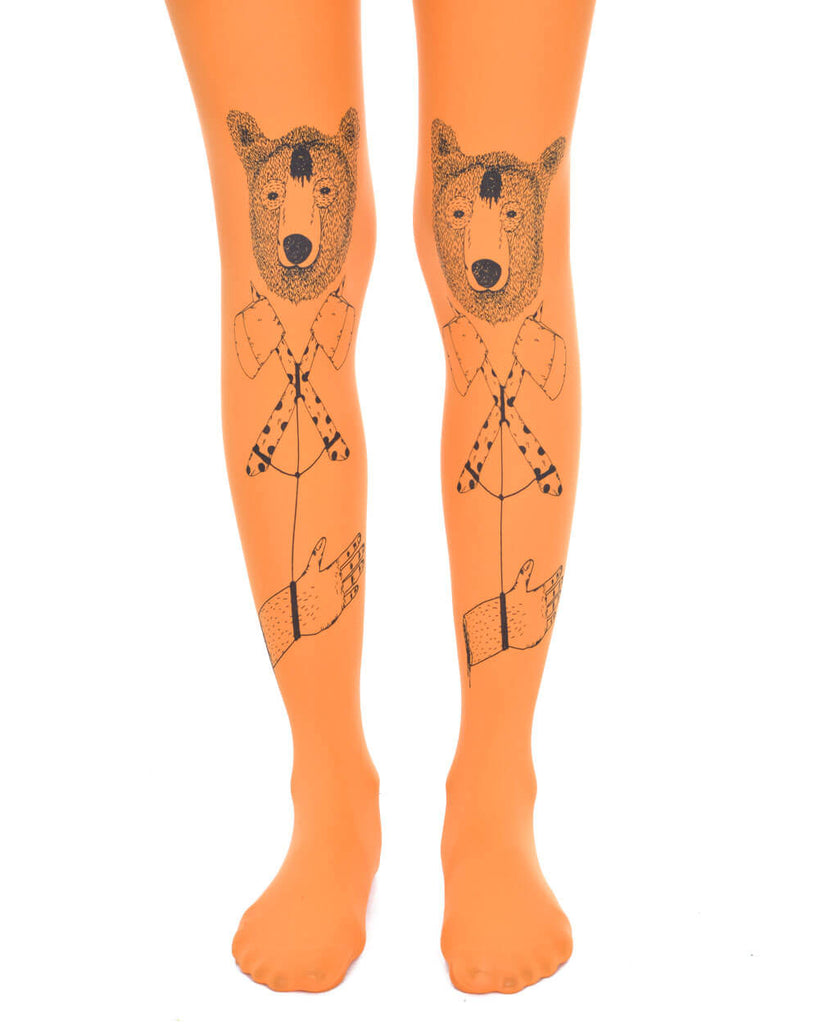 BEAR ORANGE TIGHTS - Eros Mortis