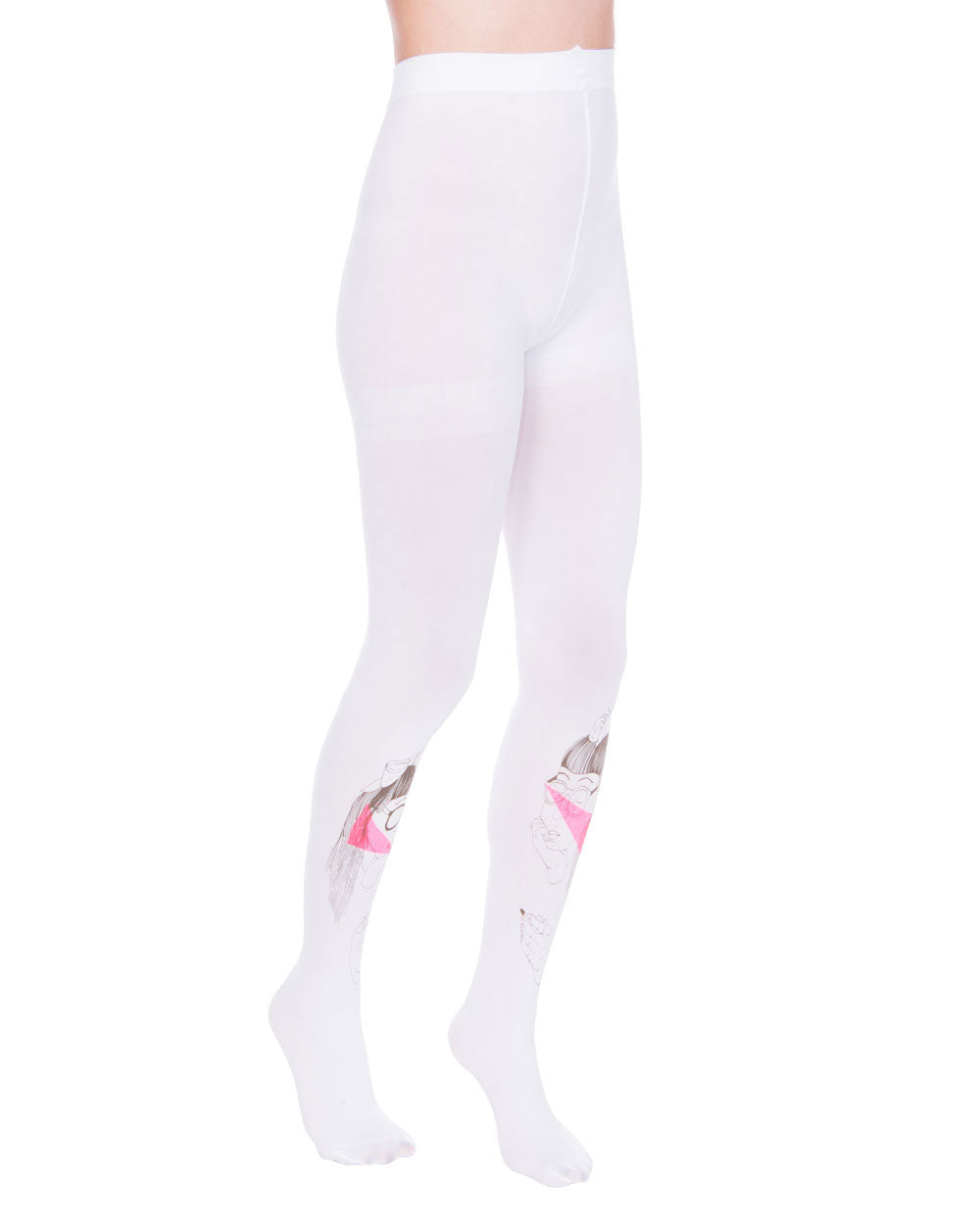 GIRLS WHITE TIGHTS - Eros Mortis