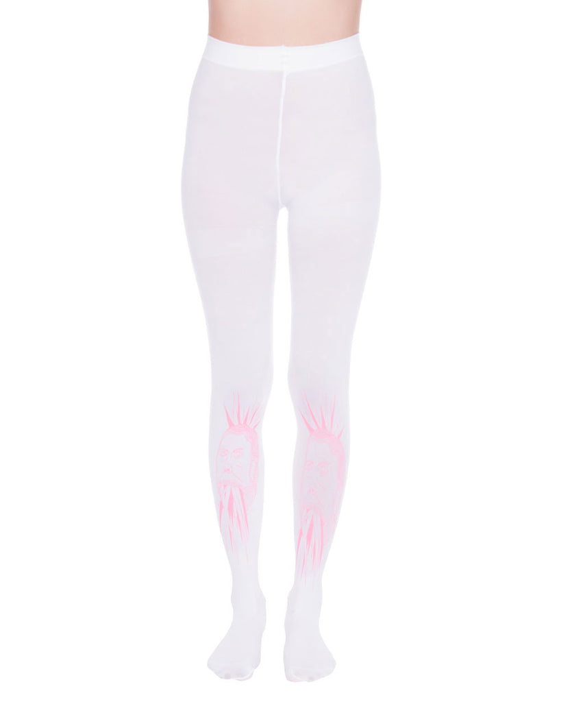 CRYSTAL MAN WHITE TIGHTS - Eros Mortis