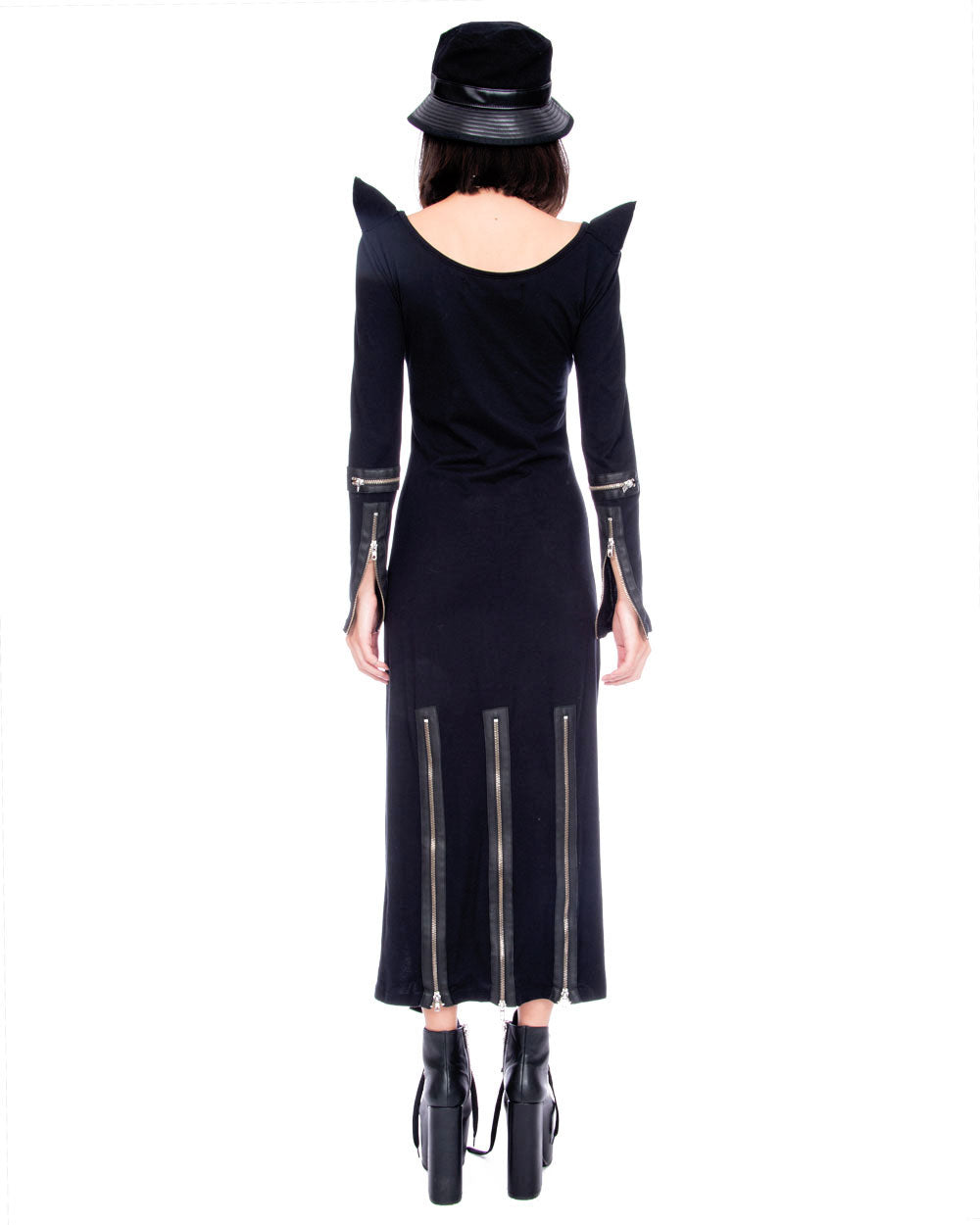 HORNS AND ZIPPERS DRESS - Eros Mortis