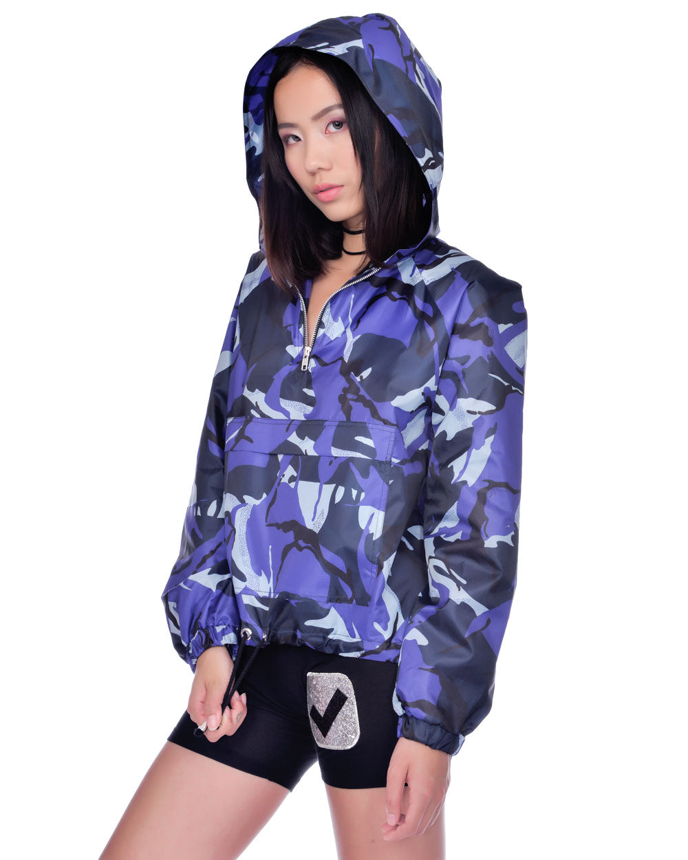 SURVIVOR WINDBREAKER PULLOVER JACKET - Eros Mortis