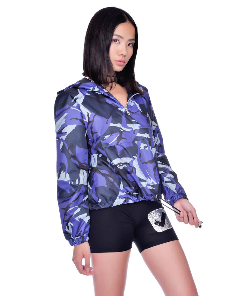 SURVIVOR WINDBREAKER PULLOVER JACKET
