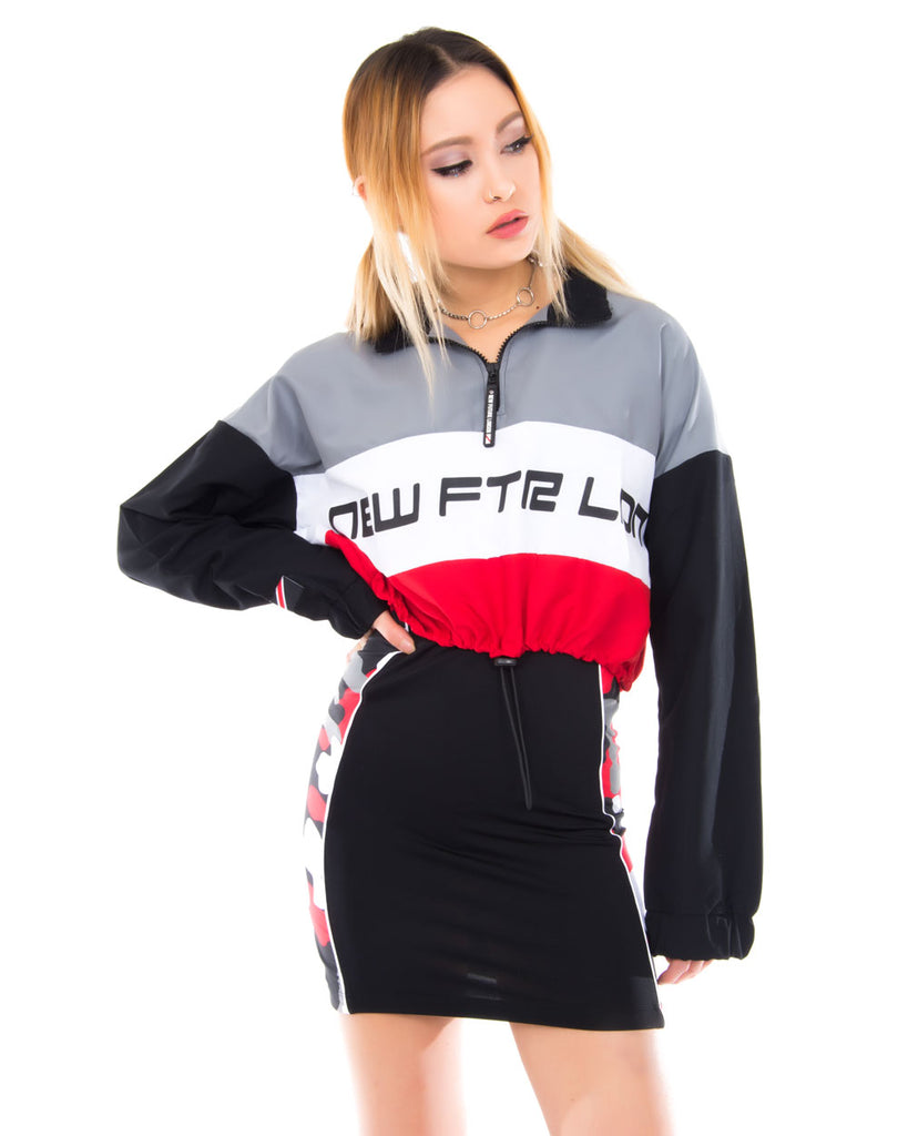 RACER LOGO CROPPED WINDBREAKER