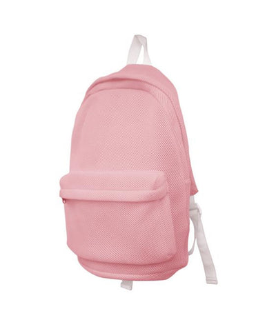 MESH BACKPACK PINK