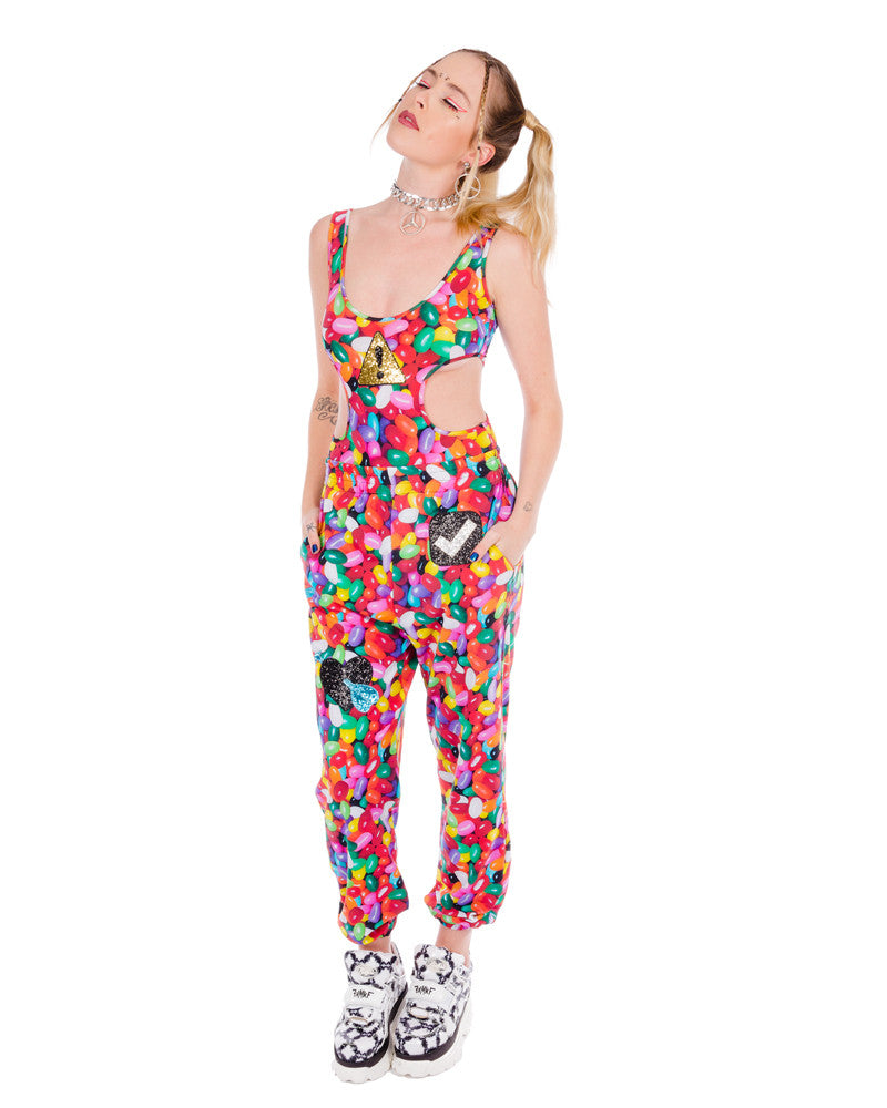 JELLY BEAN DREAMS EMOJI TRACK PANTS