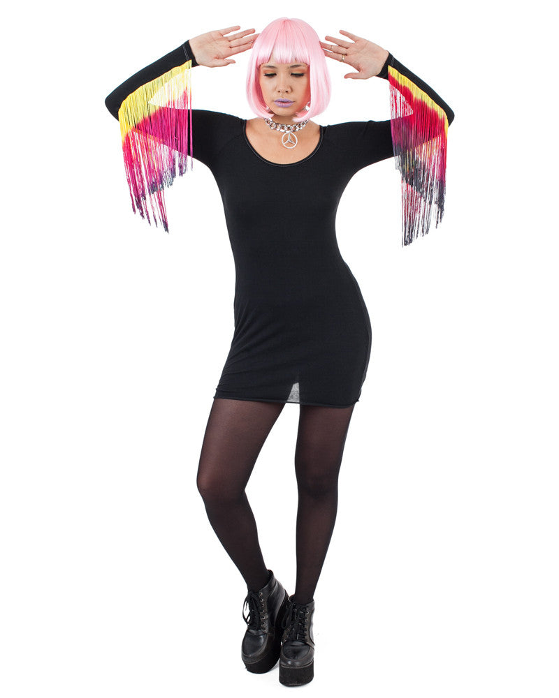DRAGONFLY MINI DRESS - Eros Mortis