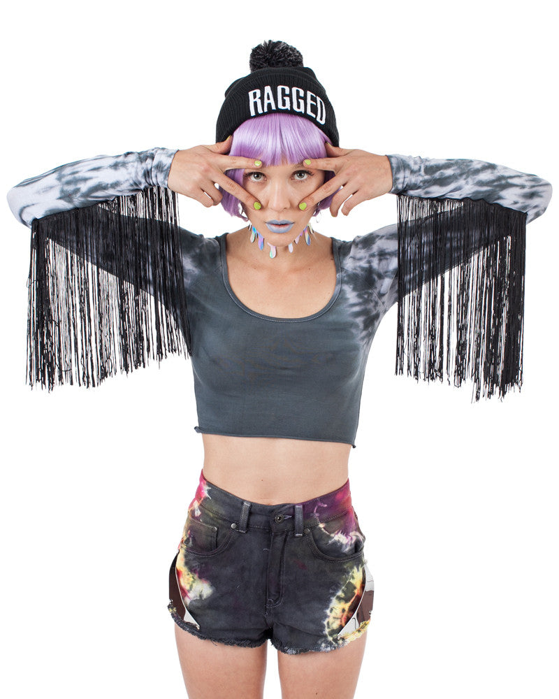 BEETLEJUICE HALLE CROP TOP