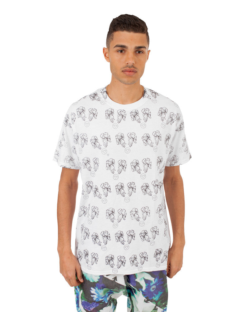 WHITE LODGE UNISEX T-SHIRT - Eros Mortis