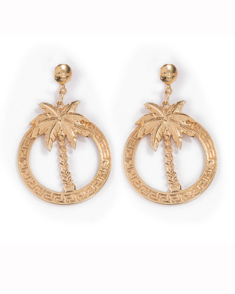 PALM DIDDY EARRINGS - Eros Mortis