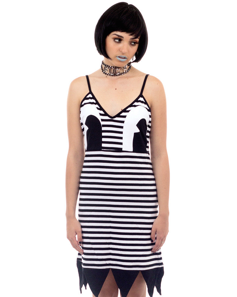 CARTOON DRESS - Eros Mortis