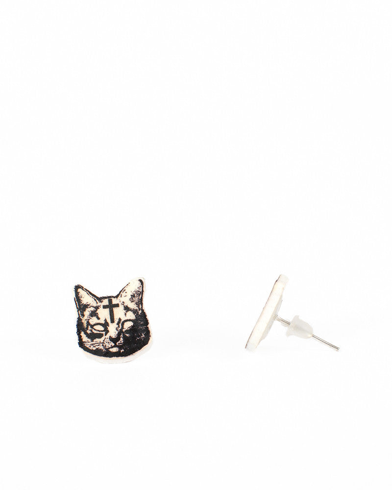 HOLY CAT EARRINGS - Eros Mortis