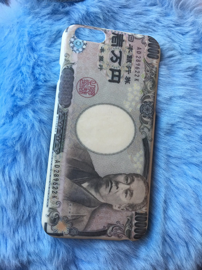 YEN CURRENCY IPHONE CASE - Eros Mortis