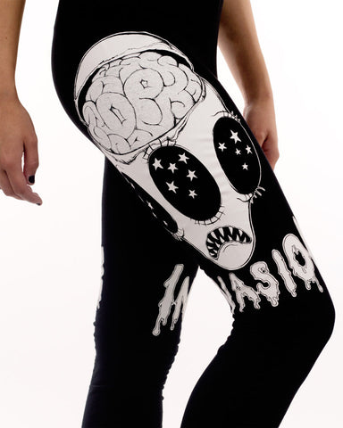 INVASION PRINT LEGGINGS