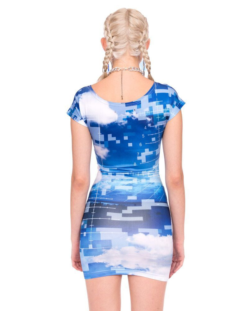 DANGER BODYCON DRESS - Eros Mortis