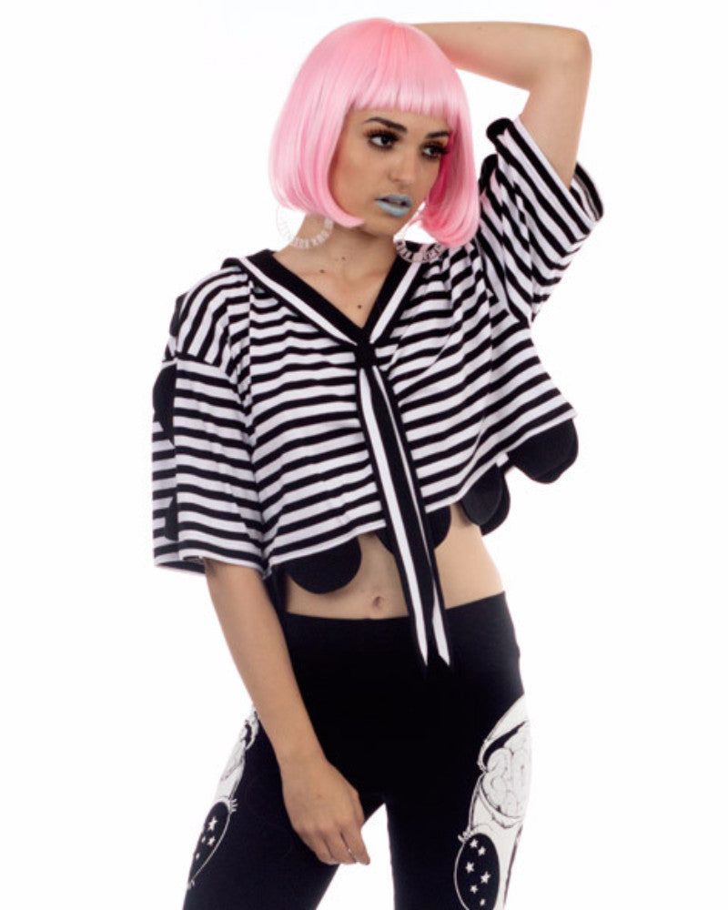 SAILOR CROPPED TOP - Eros Mortis