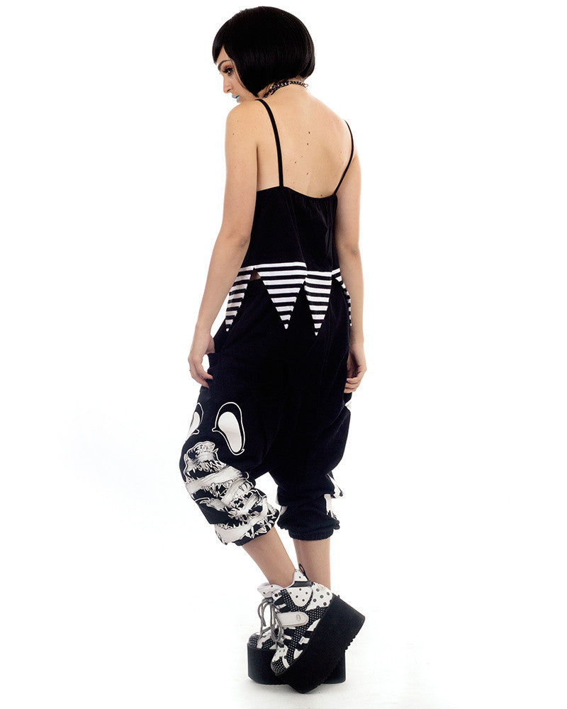 EYES STRIPED TANK TOP - Eros Mortis