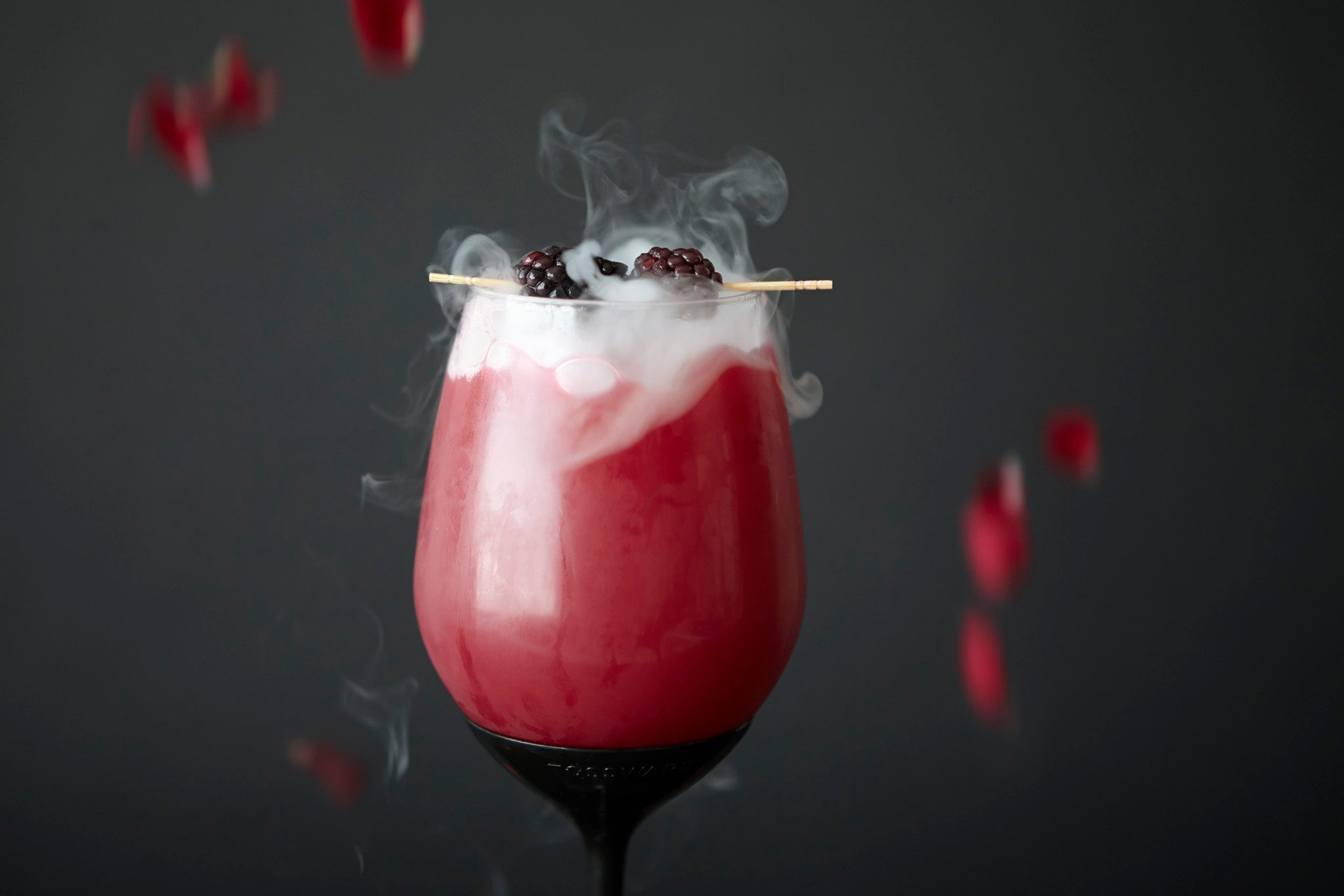Dry ice Cocktail Halloween Cocktail