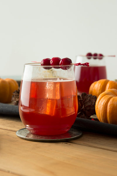 Cranberry Dark and Stormy Cocktail Recipe