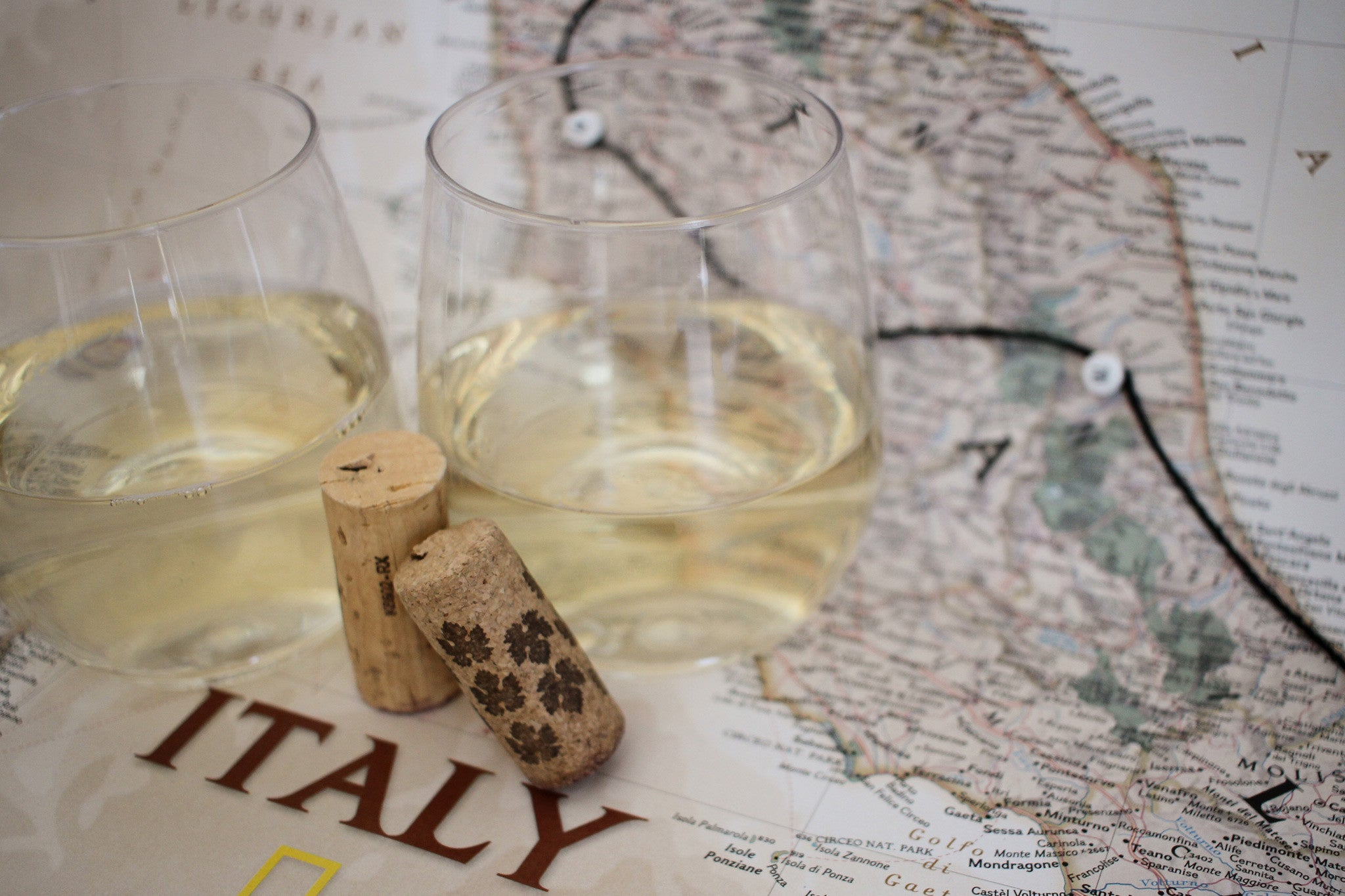 Marche wines, touring Italy by the wine glass, Verdicchio pairing