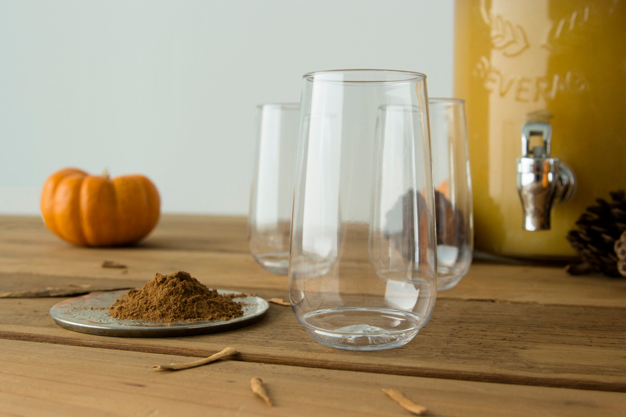TOSSWARE Cups for Pumpkin Pie Punch for Kids