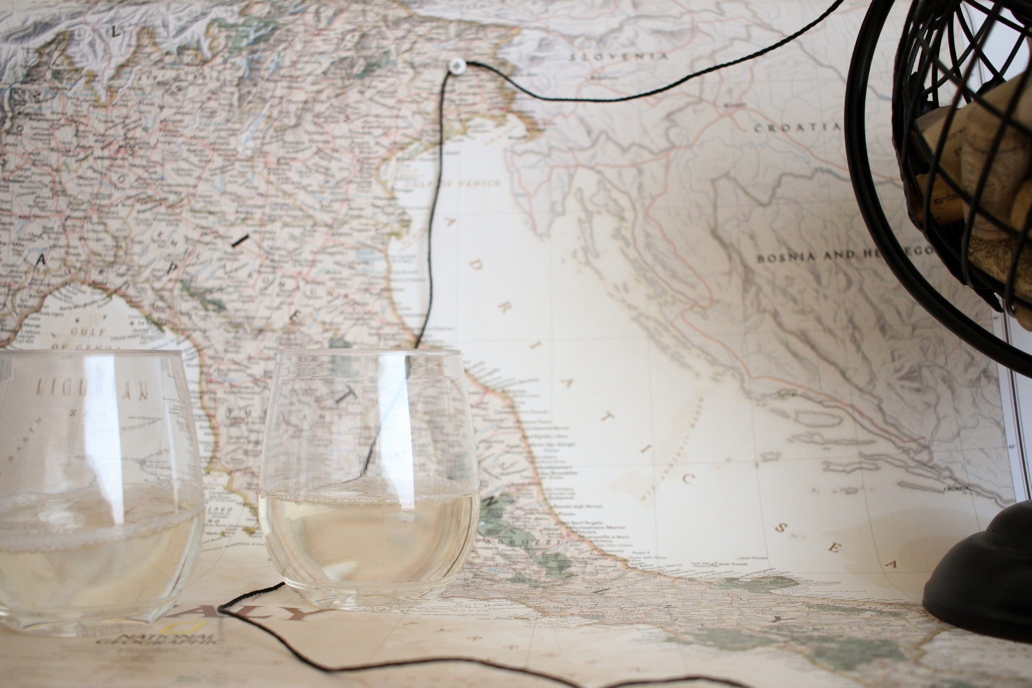 Touring Italy by the Wine Glass, Fiuli-Venezia Giulia, Glass of Fruili, Fruili pairing