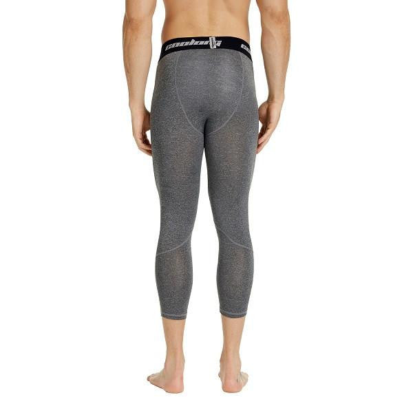 Heather Grey 3/4 Compression Tights