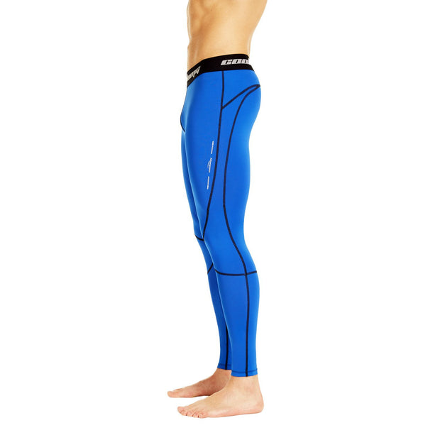 Dark Blue Compression Tights Pants