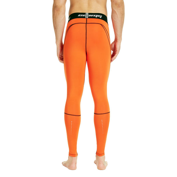 Orange Compression Pants