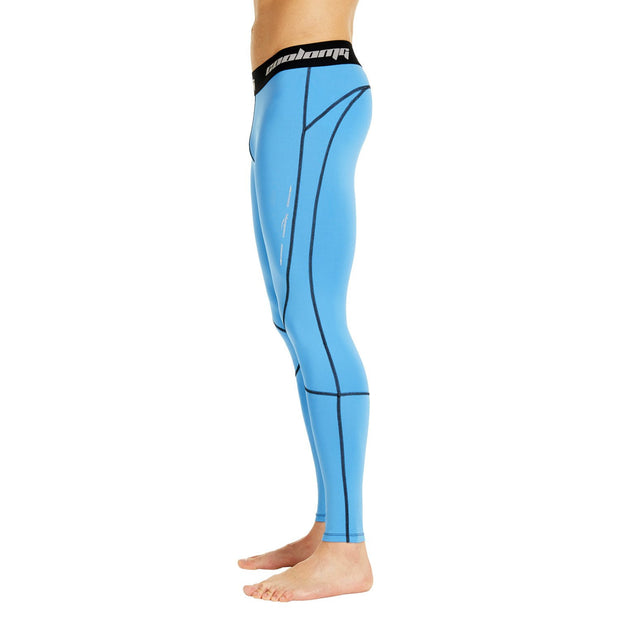 Light Blue Compression Tights Pants