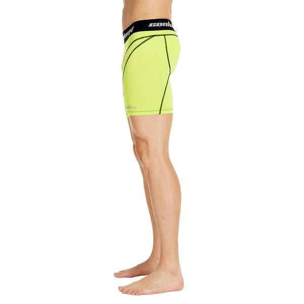 Men's Yellow Training Shorts