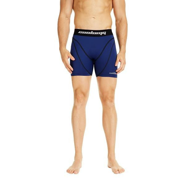 Men's Navy Training Compression Shorts