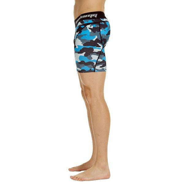 Men's Light Navy Camo 6'' Fitness Shorts
