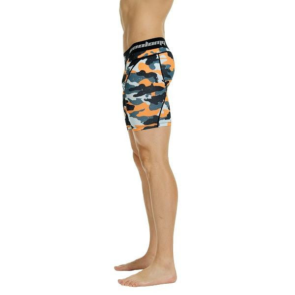 Men's Orange Camo 6'' Fitness Shorts