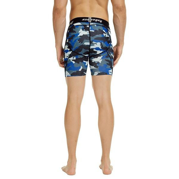 Men's Navy Camo 5.5'' Fitness Shorts