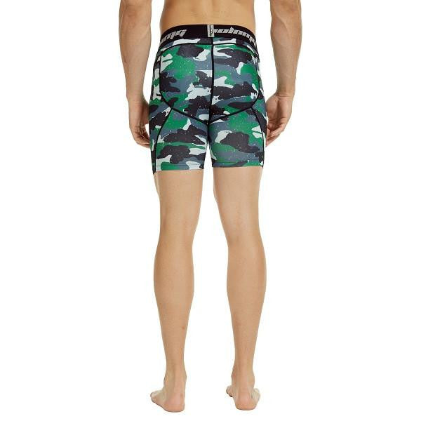Men's Green Camon 5.5'' Fitness Shorts
