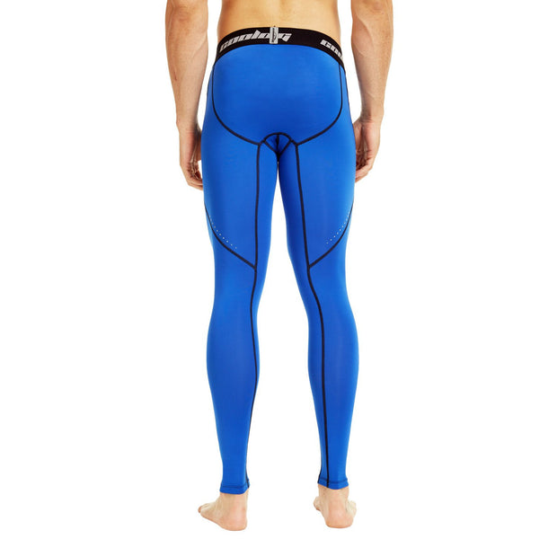 Royal Blue Compression Pants Tights