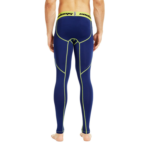 Navy Compression Pants Tights