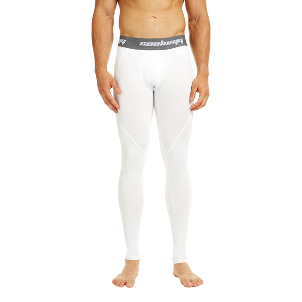 White Compression Pants Tights