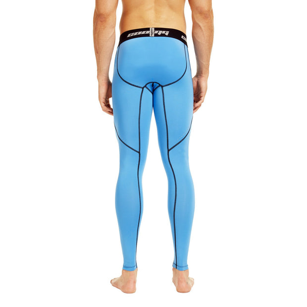 Light Blue Compression Pants Tights