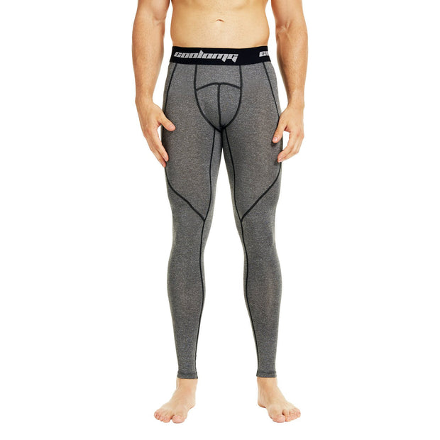 Grey Compression Pants Tights