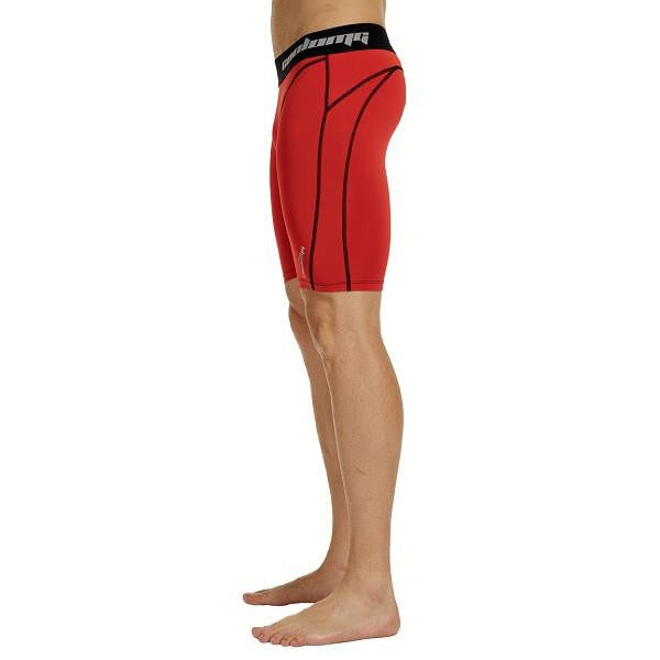 "Men's Red 7"" Fitness Shorts"