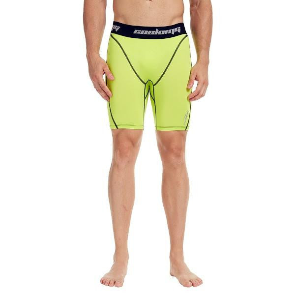 "Men's Yellow 7"" Fitness Shorts"