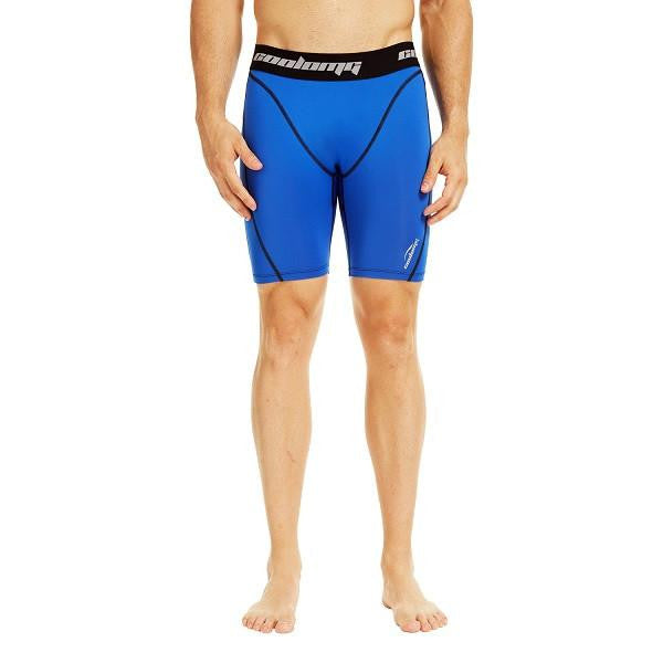 "Men's Blue 7"" Fitness Shorts"