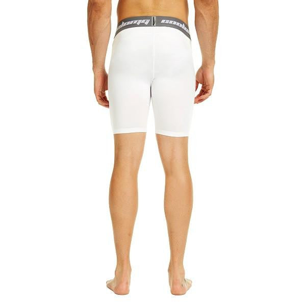 "Men's White 7"" Fitness Shorts"