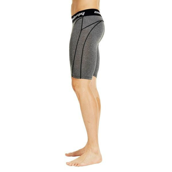 "Men's Gray 7"" Fitness Shorts"