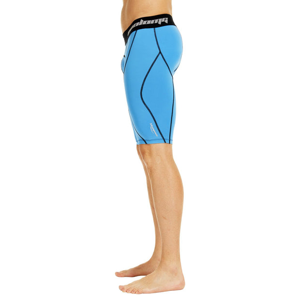 "Men's Light Blue 9"" Fitness Shorts"