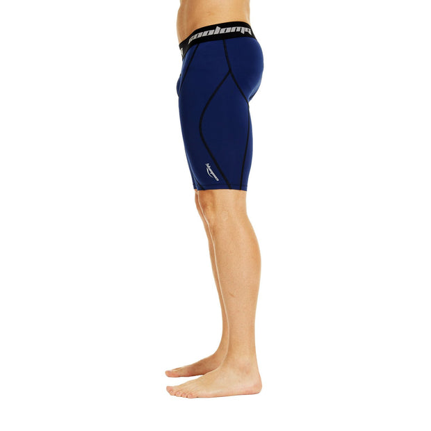 "Men's Navy Blue 9"" Fitness Shorts"