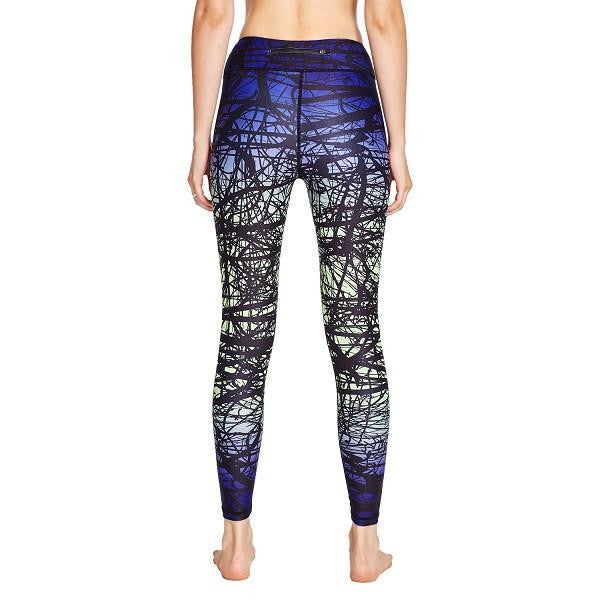 Women Printed Compression Yoga Leggings